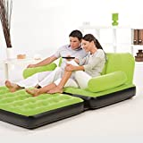 Bestway Multi-Max Inflatable Couch with Air Pump, Green