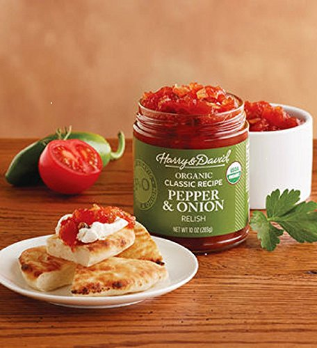 Jalapeno Pepper Relish - Harry & David Organic Classic Pepper and Onion Relish
