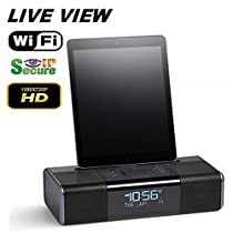 TRUE DAY & NIGHT VISION IHOME PLAYER WITH WIFI LIVE REMOTE VIEWING BUILT-IN SELF RECORDING HIDDEN CAMERA DVR, HIGH DEFINITION
