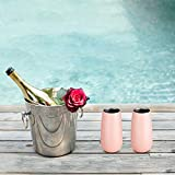 Skylety 4 Pack Stemless Double-insulated Wine