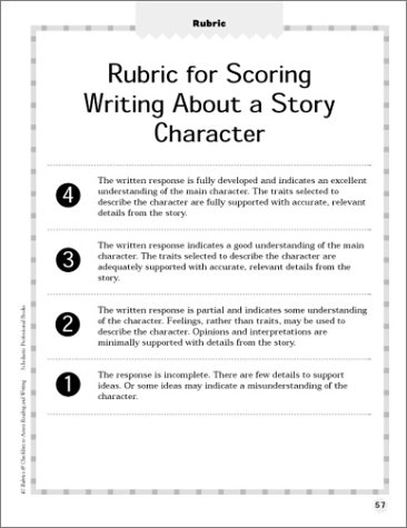 Amazon.com: 40 Rubrics & Checklists to Assess Reading and Writing ...
