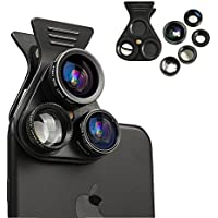 Cell Phone Camera Lens - BTIME 5 in 1 Professional HD...