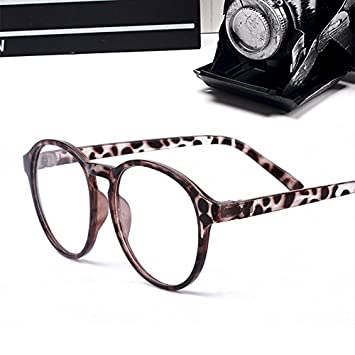 ccc128e84790 Korean spectacles lens frame ms.man paragraph tide retro leopard decorative eye  glasses frame