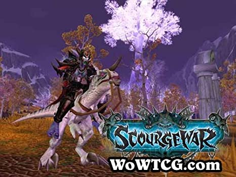 """NEW UNSCRATCHED! WORLD OF WARCRAFT WOW TCG """"TINY"""" Loot Card 50-Charge Mount"""