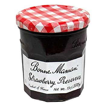 amazon com bonne maman strawberry preserves 13 ounce jars pack
