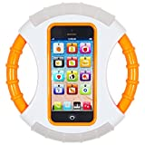 Frisby Steering Wheel YPhone Iphone Learning Educational Toy Mobile Phone Gift for Kids Children & Christmas