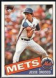 Baseball MLB 1985 Topps #250 Jesse Orosco Mets
