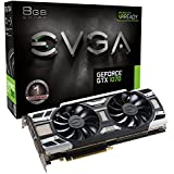 EVGA GeForce GTX 1070 GAMING ACX 3.0, Whisper Silent Cooling Graphics Card 08G-P4-6171-KR