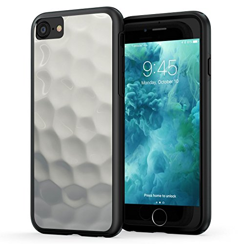 True Color Case Compatible with iPhone 7 Case/iPhone 8 Case, Golf Ball Sports Collection Slim Hybrid Hard Back + Soft TPU Bumper Protective Durable Cover [True Impact Series] ()