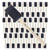 Loew-Cornell Foam Sponge Wood Handle Paint Brush