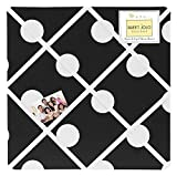 Sweet Jojo Designs Hot Dot Fabric Memory/Memo Photo Bulletin Board