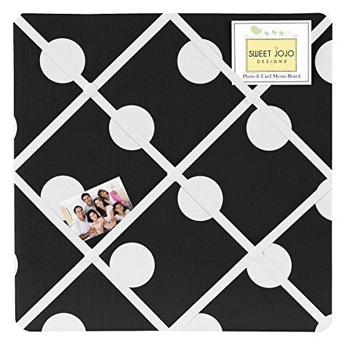 Sweet Jojo Designs Hot Dot Fabric Memory/Memo Photo Bulletin Board by Sweet Jojo Designs