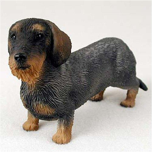 - Wirehaired Dachshund Original Dog Figurine (4in-5in)