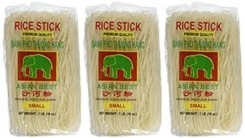 Asian Best Premium Rice Stick Noodle, 16 Oz (3 Pack) 1