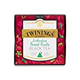 Twinings Tea Gift Box Collection 37.5g - Enchanting - Forest Fruits Black Tea (Pack of 6)
