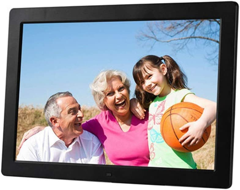 Digital Photo Frame 15 Inch Digital Photo Frame 1280800 Pixels High Resolution LED Screen 1080P HD Video Playback Auto On//Off Timer Remote Control Included Gift For Familiar And Friends Display and S