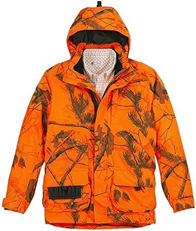 Veste de chasse chambord effet cuir Vêtements et
