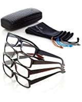 + 3.50 Joy Mangano Shades Readers 9-piece Deluxe Set Designed for Men