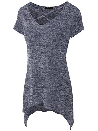 Womens Criss Cross Casual T Shirt