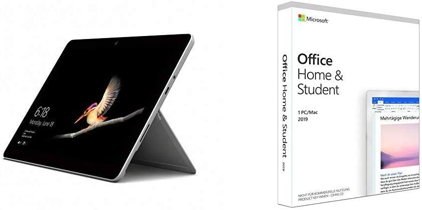 Microsoft Surface Go 25 Cm 2 In 1 Tablet Microsoft Computer Zubehör