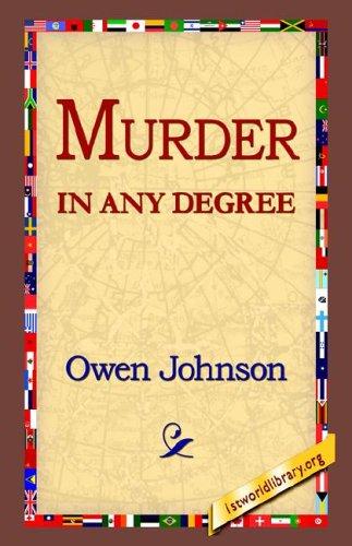Read Online Murder in Any Degree ebook