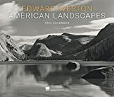 Edward Weston American Landscapes 2019 Wall Calendar
