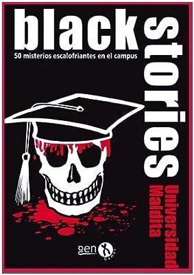 Black Stories- Universidad Maldita (Gen X Games GENBS35): Amazon.es: Juguetes y juegos
