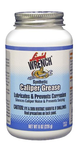 Liquid Wrench L608/6-6PK Disc Brake Caliper Grease - 8 oz., (Pack of 6) by Liquid Wrench