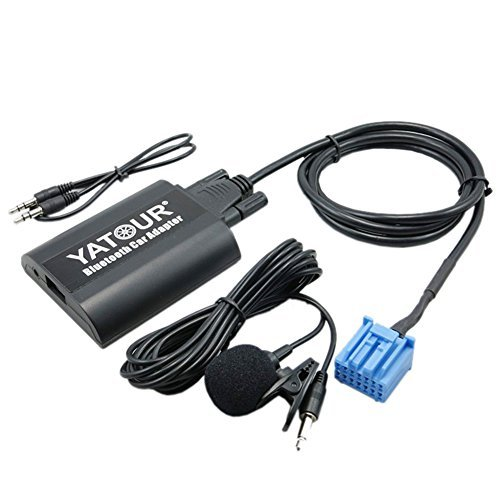 (Yatour Bluetooth Car Adapter Music CD Changer MP3 Phone Charging for Acura Honda Accord CRV)