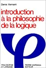 Introduction à la philosophie de la logique par Vernant