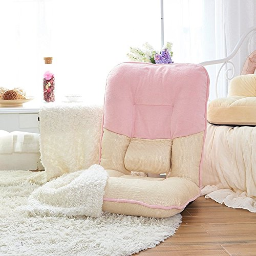 511DSNYsV6L - Adjustable-Memory-Foam-Folding-Chair-Gaming-Sofa-Seat-with-Mini-Pillow