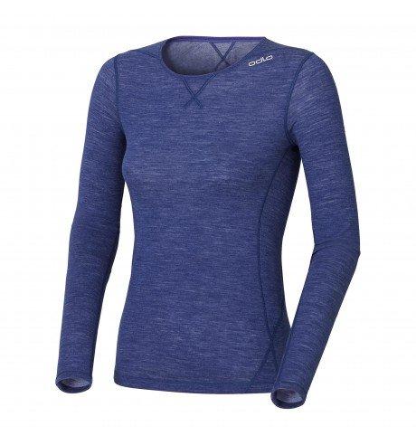 Odlo Damen Shirt L/S Crew Neck Revolution Tw Warm Unterhemden Lg.arm Da