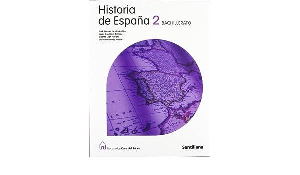 Historia de España Com. Foral de Navarra 2 Bachillerato La Casa ...