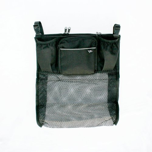 JL Childress Cups 'N Cargo Stroller Organizer, Black
