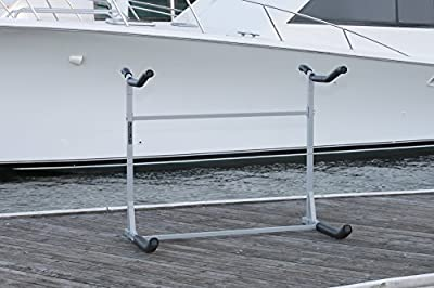 SpareHand Tool Free Freestanding Dual Kayak Rack