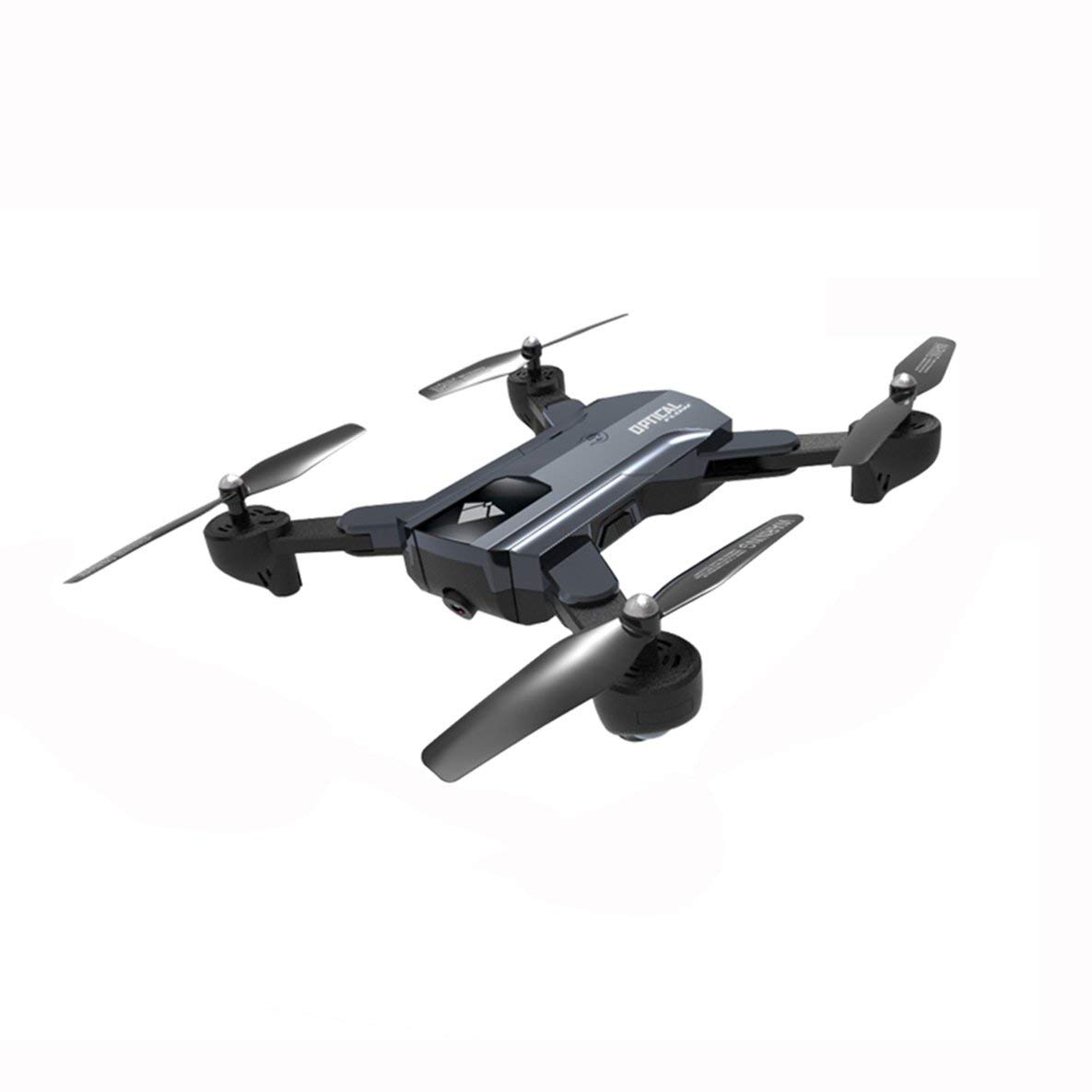 F196 Optical Flow Foldable Quadcopter RC Drone with 2MP Camera 1100mAh Battery