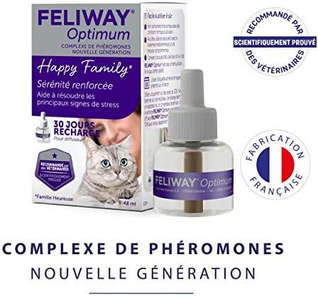 Feliway Optimum - Anti-Stress pour Chat - Recharge