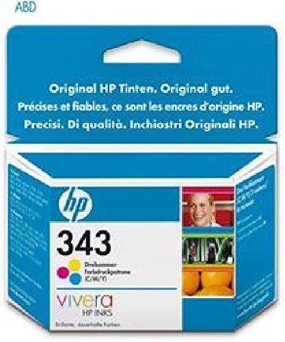Cartucho de tinta 343 para Deskjet 9800, 9800d, 6540, 6540d ...