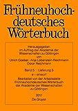 Frühneuhochdeutsches Wörterbuch: e – einwurf
