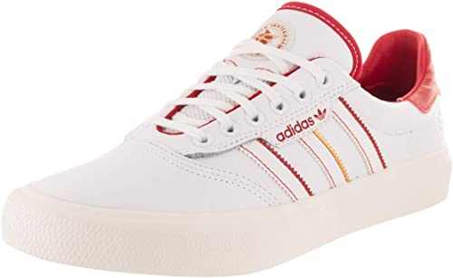 falda Alboroto oficial  adidas 3MC x Evisen (White/Scarlet/Gold Metallic) Men's Skate Shoes:  Amazon.co.uk: Shoes & Bags