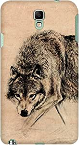 DailyObjects Wolf Paper Case For Samsung Galaxy Note 3 Neo