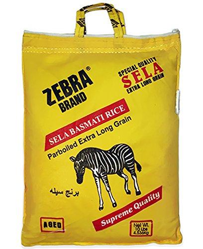 basmati rice zebra - 1