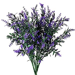JWCTECH Artificial Plants Flowers Artificial Plants Greenery Artificial Flowers 4