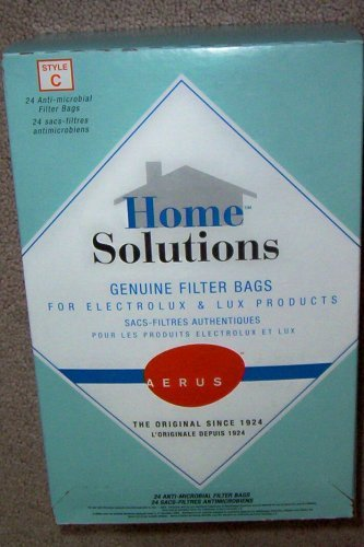 Home solutions genuine filter bags electrolux style r