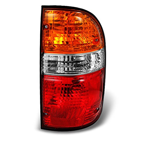 For Toyota Tacoma Pickup Red Amber Tail Light Brake Lamp Brake Light Passenger Right Side Replacement