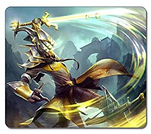 Customized Fashion Style Textured Surface Water Resistent Mousepad Master Yi League Of Legends Game 6 High Quality Non-Slip Gaming Mouse PadsMaris's Diary