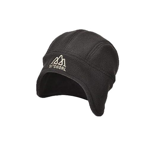 Amazon.com  LLmoway Skull Cap with Ear Flaps 566072b5a58