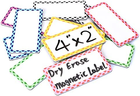 Magnetic Erase Labels Bright Borders product image