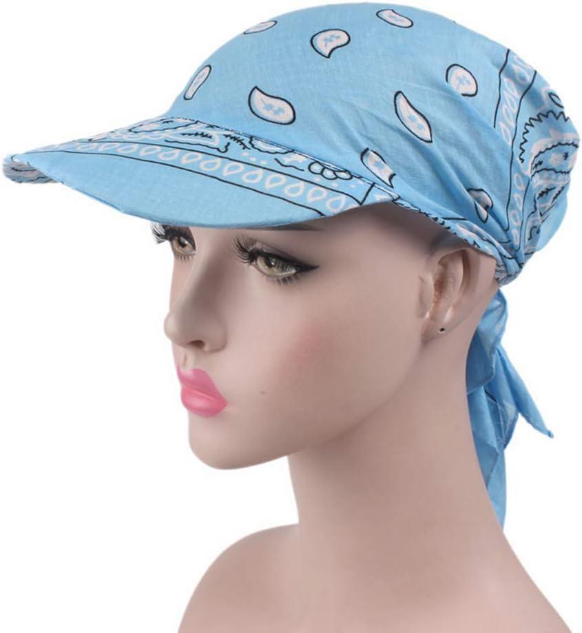 Casue Sommer Farben Bandana Cap Damen Baumwolle Beanie Kopftuch Schal Bandana H/üte Anti-UV Kopfband Kopf Schal H/üte
