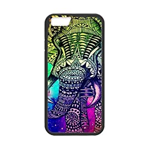 diy zhengCute Vintage Newspaper Elephant Aztec Floral Trunk Snap on Case Cover for Personalized Case for Ipod Touch 5 5th (Laser Technology) Case Screen iPhone -04